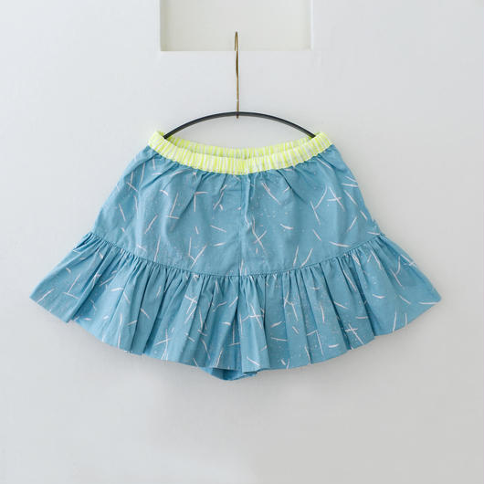 michirico[ミチリコ]/Hanabi textile flare short pants