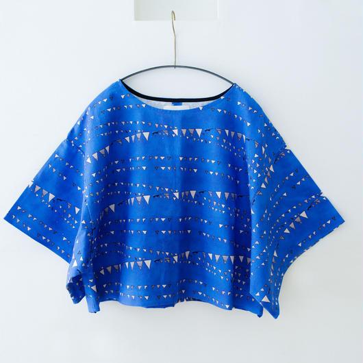 michirico[ミチリコ]/Garland Linen Top(womens) M