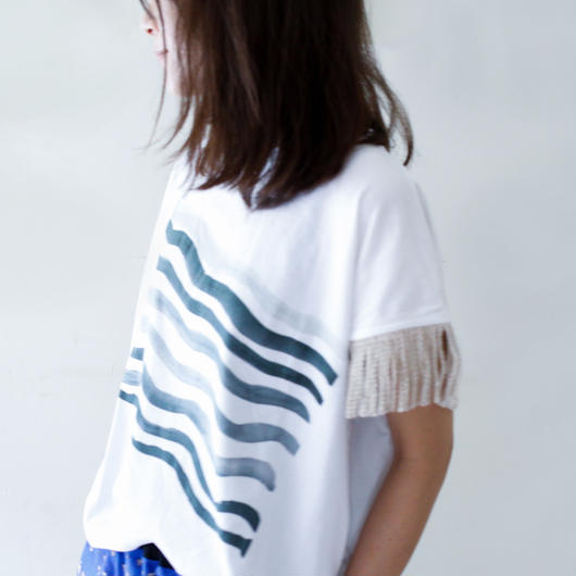 michirico[ミチリコ]/NamiNami Shirt (womens) white M