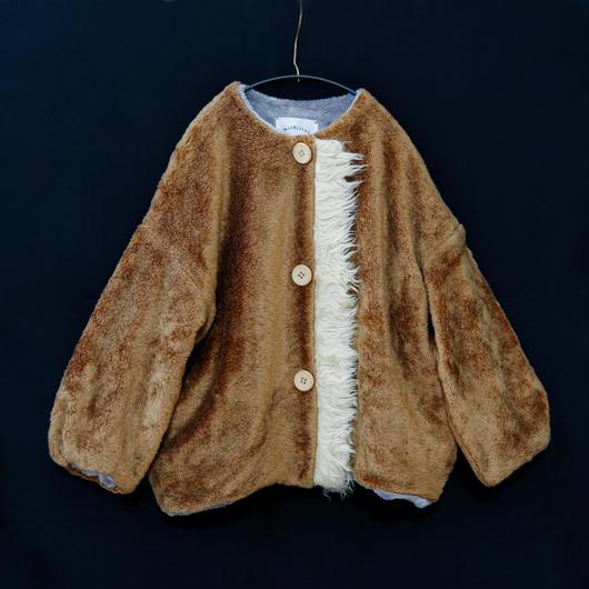 michirico[ミチリコ]/Boa coat(kids)