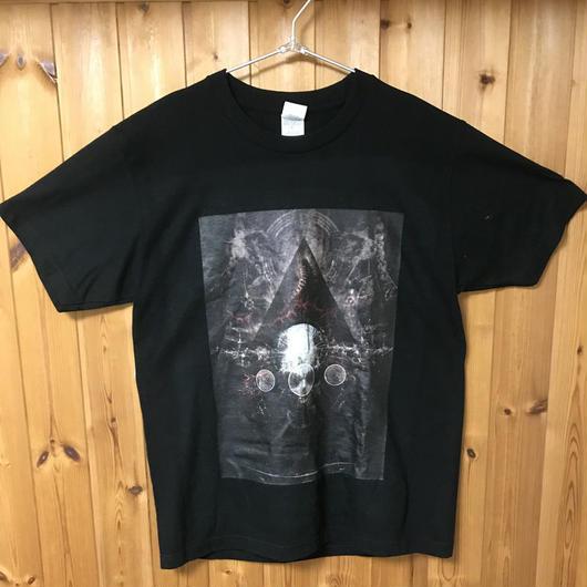 虚 両面プリントTシャツ(synthetic skull)※ただいま在庫無