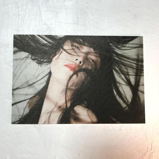 卯月沙梨音 ポストカード「願意」