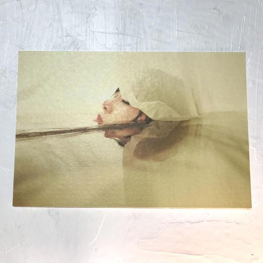 卯月沙梨音 ポストカード「蛹の刻」2