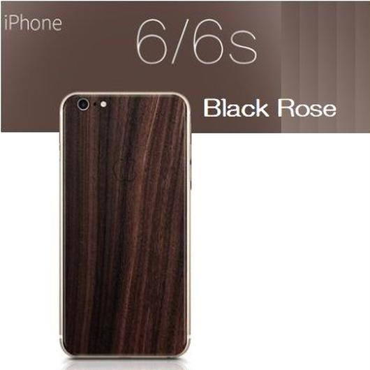 iPhone6/6s対応 天然木背面保護スキン