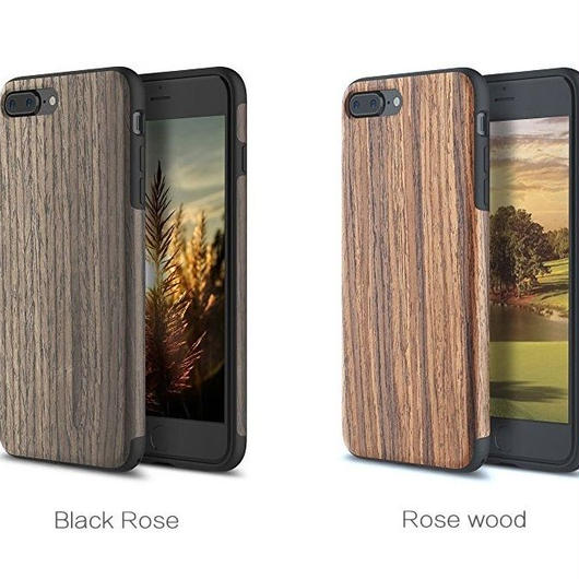 iPhone8/7対応 天然木スマホケース