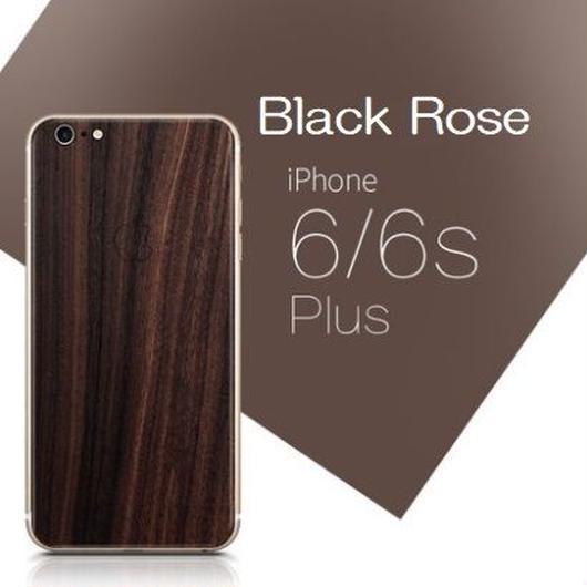iPhone6Plus/6sPlus対応 天然木背面保護スキン