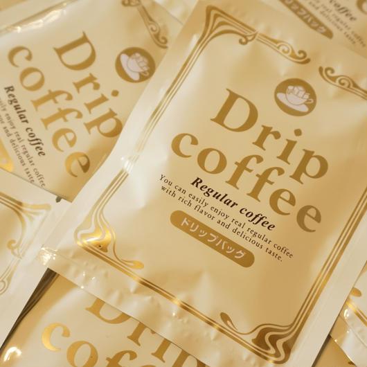 ドリップオンコーヒー(レギュラー)8g×10パック
