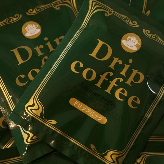 ドリップオンコーヒー(深煎り)8g×10パック
