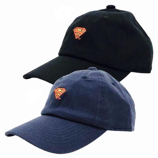 スーパーマン刺繍CAP