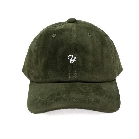 ベロアアルファベット刺繍CAP