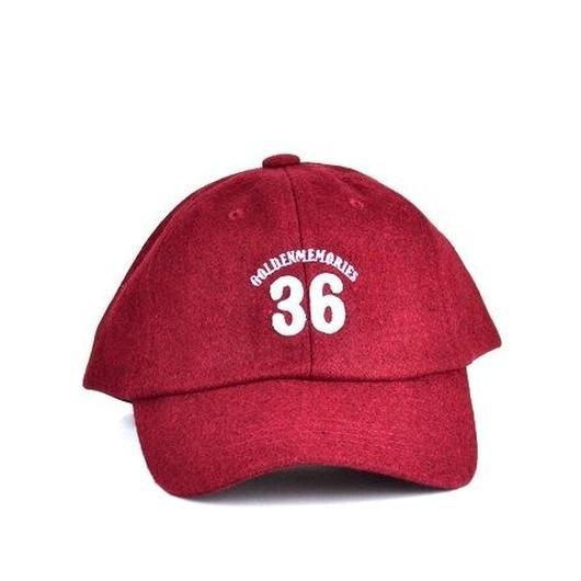 AW/ワンポイントロゴ刺繍CAP