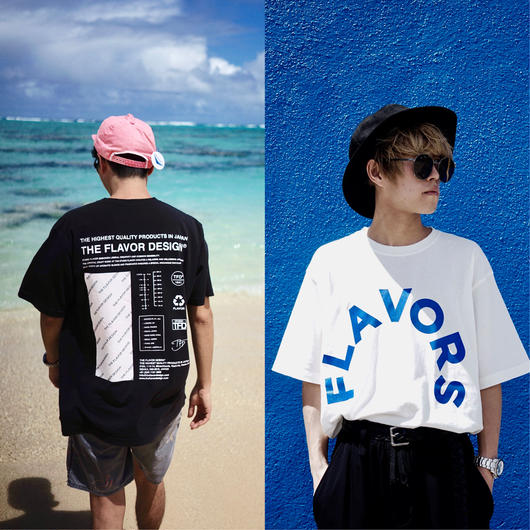 """TFD®︎ """"FLAVORS"""" T-Shirt by FUNG"""