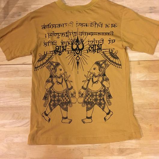 ガネーシャTシャツ メンズ