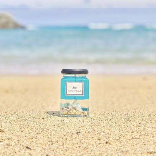 sea luxury aroma candle
