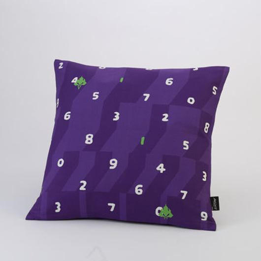 EVANGELION Cushion (textile design by SOU・SOU) 初号機