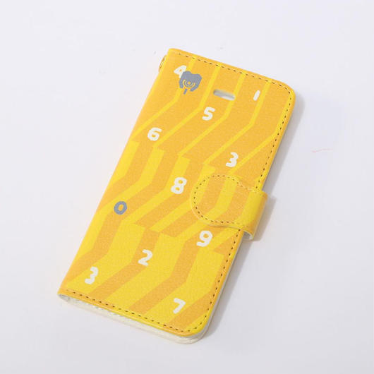 EVANGELION iPhone 5/5S Diary Case (textile design by SOU・SOU) 零号機