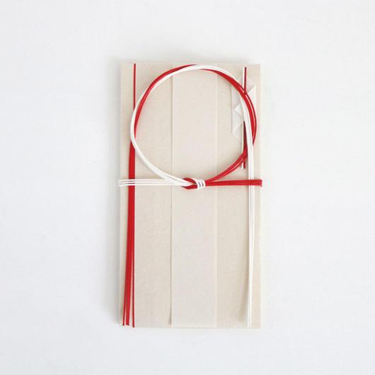 紙漉き職人・水引職人とつくるご祝儀袋【輪結び3本】*婚礼の御祝い用