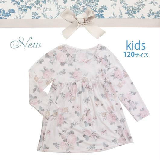 KIDS【オールドローズワンピース120cm】P91471-761