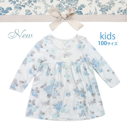 KIDS【オールドローズワンピース100cm】P91470-761