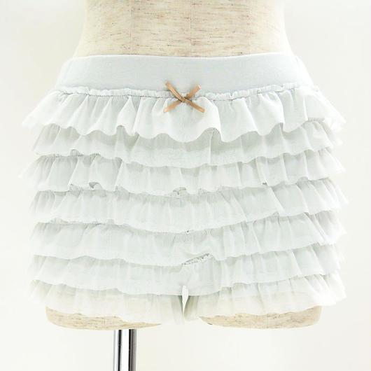 【スモーキーカラーチュールペチパンツ】P91251 -203