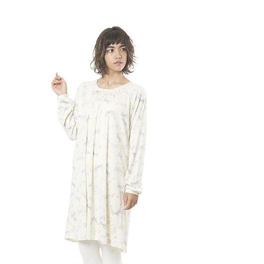 【リボンベールAラインワンピース】P91404-743