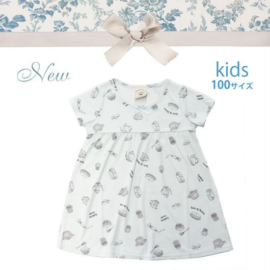 KIDS【クッキングレシピワンピース100cm】P91540-532