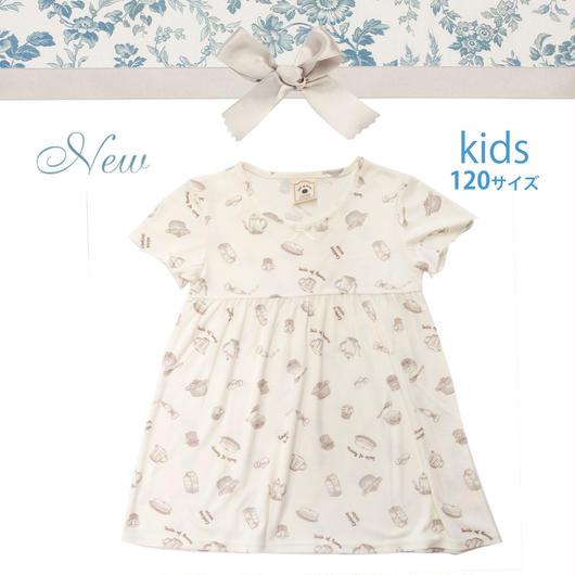 KIDS【クッキングレシピワンピース120cm】P91541-532
