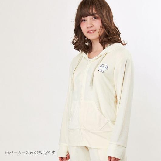 【ラビット刺繍 パイルパーカー】P91556-772