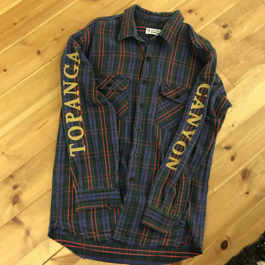 LOT, STOCK AND BARREL  Flannel shirts