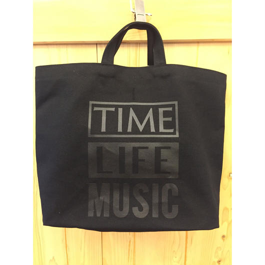 DRESSSEN  TIME LIFE MUSIC BAG / BLACK