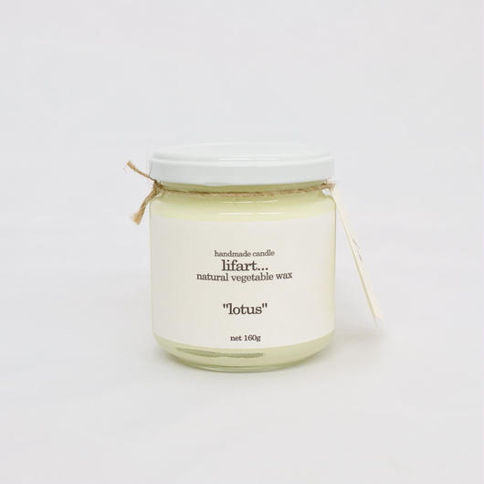 "fragrance candle ""lotus"""