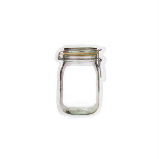 "Mason Jar Zipper Bag  ""S set of 4"""