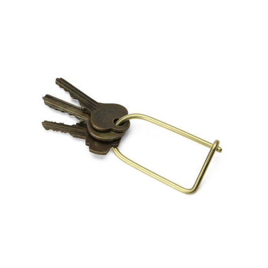 "Wilson Key Ring ""Brass"""