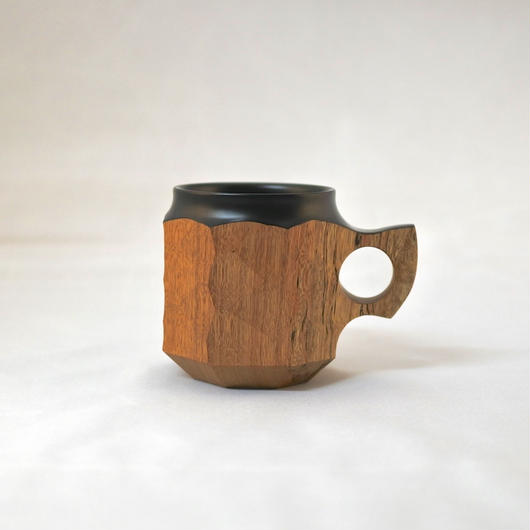 "JIN CUP ""urushi"" Black M"