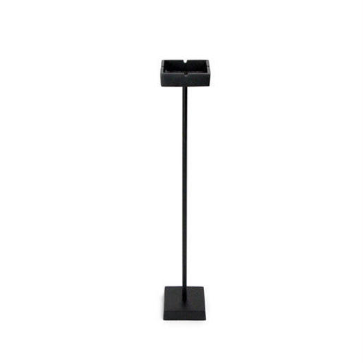 Stand Ashtray Black Mat Square