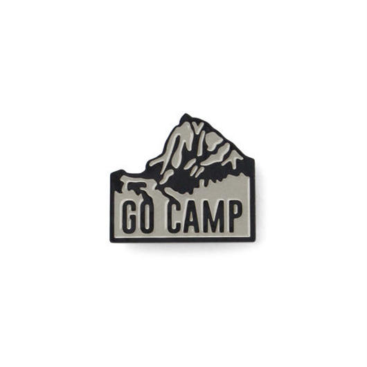 "J&M Lapel Pin ""Go camp"""