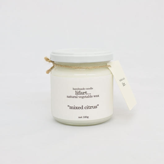 "fragrance candle ""mixed citrus"""