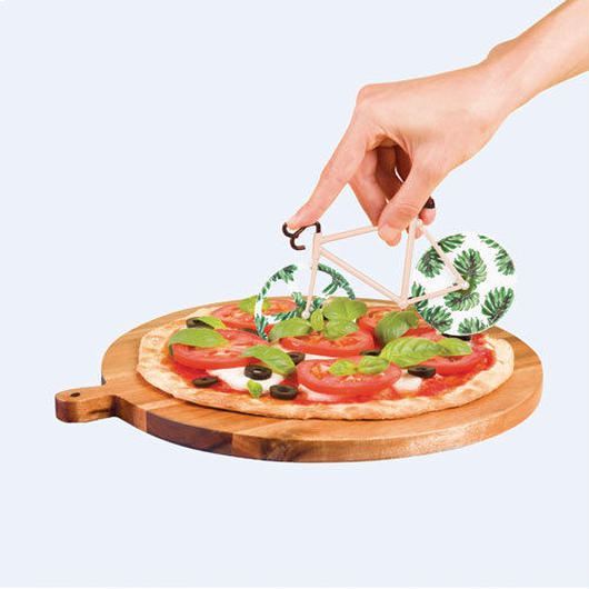 "Fixie Pizza Cutter ""Tropical Vintage"""