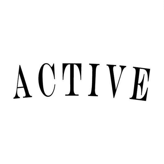 ACTIVE TEE : White × Black