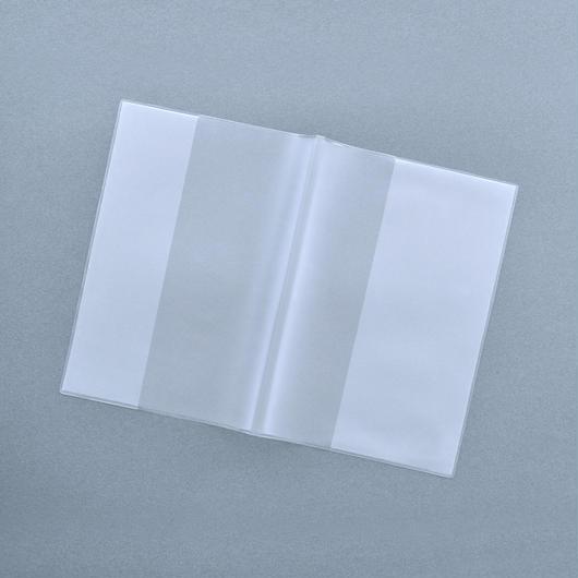 【5枚セット】A6サイズ:64ページ PVC(塩ビ)製オリジナルブックカバー