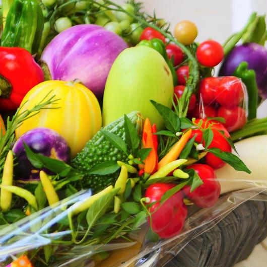結婚式でご両親に贈る野菜ブーケ新郎新婦様ご両家分として2個セット(クール便送料無料)