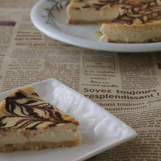 【動画レシピ】低糖質の濃厚チョコチーズケーキ