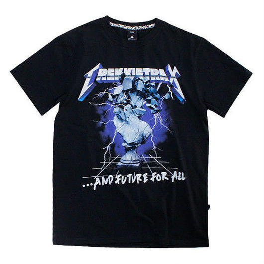 TREKKIE TRAX × THE TEST] Metal S/S Tシャツ