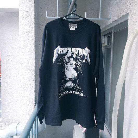 [TREKKIE TRAX × THE TEST]Metal Long Sleeve Black