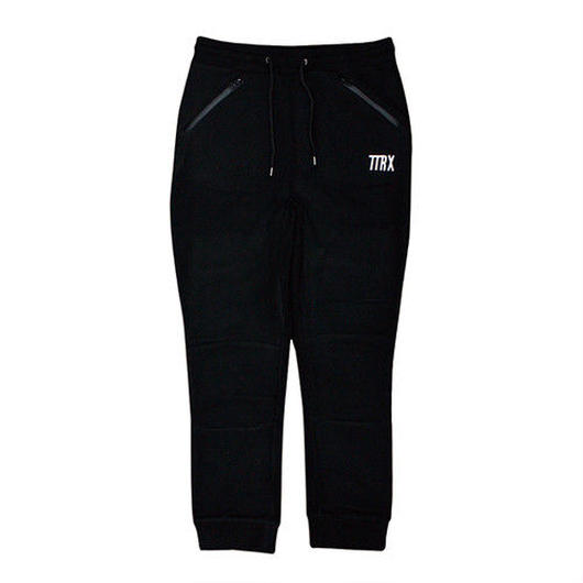 [TREKKIE TRAX × THE TEST] Fleece Pants (Black)