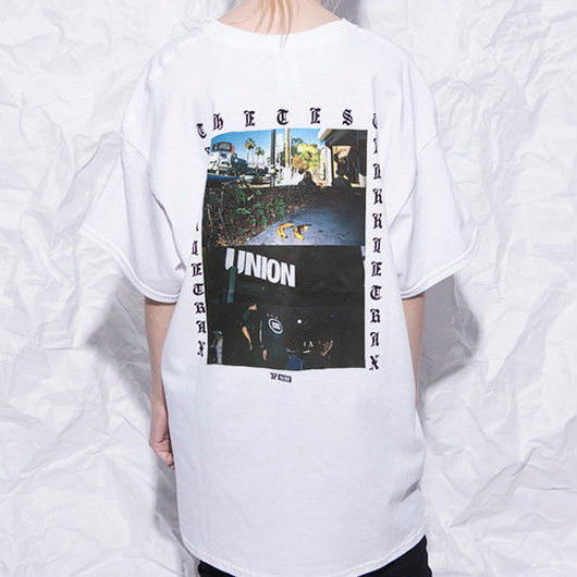 [TREKKIE TRAX × THE TEST] USA TOUR PHOTO S/S Tシャツ [WHITE]