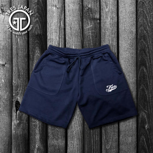 【TMC】SWEAT LOGO SHORTS(Navy)