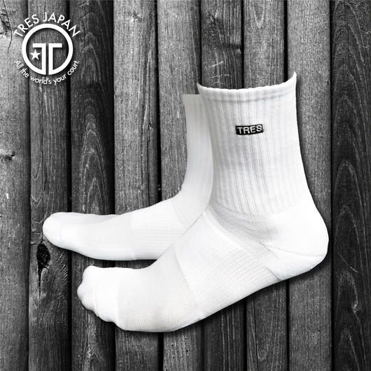 【TMC】BASKET SOCKS  1POINT(Black)