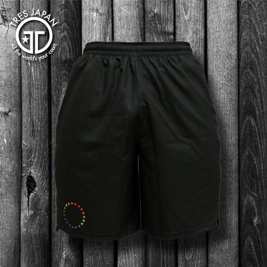 【TRESJAPAN】ZIPPERポケットパンツ(ブラックスター)