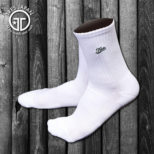 【TMC】BASKET SOCKS  Surf Logo(White/Black)